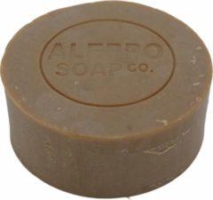 Aleppo Soap Co Natuurlijke Aleppo scheerzeep voor mannen 100 gram - refill - navulverpakking - nat scheren heren - vegan scheer zeep heren
