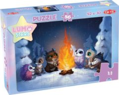 Tactic Legpuzzel Lumo Stars By The Fire 56 Stukjes