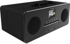 Denver MIR-260 Tafelradio met internetradio DAB+, FM AUX, Bluetooth, CD, NFC, Internetradio Zwart