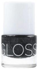 Glossworks Natuurlijke nagellak antracite 9 Milliliter