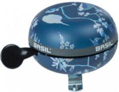 Basil Wanderlust Ding dong fietsbel - 80 mm - Indigo blauw