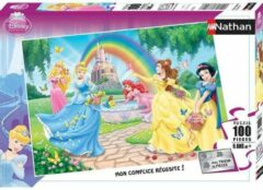 Nathan DISNEY PRINSES Puzzel The Garden Of The Princesses 100 stks