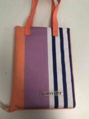 Beach kleed - Sunnylife - paars blauw