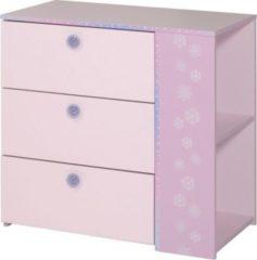 Kommode rosa/ lila Parisot Cristal 8