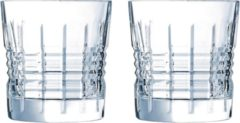 Transparante Cristal d'Arques - Rendez-Vous - Waterglazen - 32 cl - set van 2