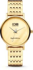 CO88 Collection Watches 8CW 10067 Horloge - Stalen Band - Ø 32 mm - Goudkleurig