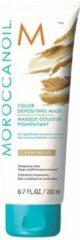 Moroccanoil Color Depositing Mask Champagne - verzorgend, uitwasbaar kleurmasker voor (licht-)blond tot medium blond haar