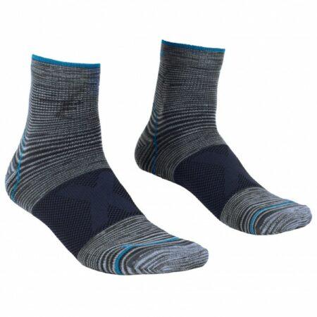 Afbeelding van Ortovox - Alpinist Quarter Socks - Multifunctionele sokken maat 42-44, zwart/grijs