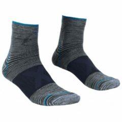 Ortovox - Alpinist Quarter Socks - Multifunctionele sokken maat 42-44, zwart/grijs