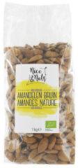 Nice&Nuts Amandelen bruin raw Nice & Nuts - Zak 1000 gram - Biologisch