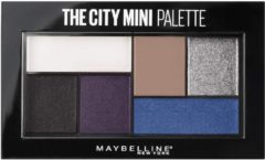 Beige Maybelline The City Mini Oogschaduw Palette 440 Concrete Runway