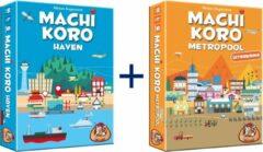 Blauwe White goblin Machi Koro Haven & Metropool uitbreiding