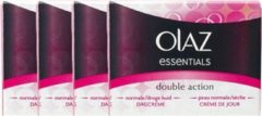 Olaz Essentials Double Action Dagcreme Voordeelverpakking