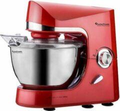 TurboTronic Pro-mix - Keukenmachine - Rood