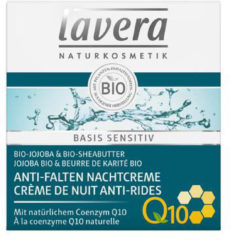 Lavera Basis Sensitiv nachtcreme/night cream Q10 F-NL 50 Milliliter