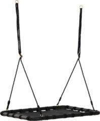 NiceGoodz Schommel - Nestschommel - Schommelzitje - Speelgoed - Zwart - 100 x 76 x 4 cm