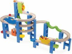 Blauwe Wonder-World Knikkerbaan Wonderworld Coaster 50x45 cm