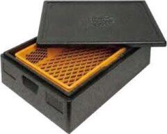 Zwarte Thermo Future Box Thermobox bakery 60x40x12 cm