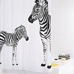 Nero RIDDER Tenda da Doccia Zebra in Tessuto 180x200 cm 42311