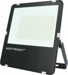 Zwarte HOFTRONIC™ LED Breedstraler 150 Watt - IP65 - 6400K - 160lm/W - Schijnwerper - Buitenlamp - 5 jaar garantie