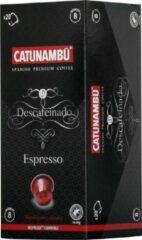 Catunambú cups geschikt voor Nespresso® - Espresso Descafeinado 5 x 20 cups