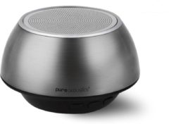 Pure Acoustics QBT-220 zilver - Portable satelliet bluetooth speaker met radio