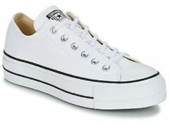 Witte Lage Sneakers Converse Chuck Taylor All Star Lift Clean Ox Core Canvas