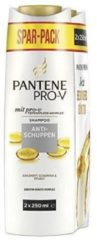 Pantene Shampoo - Anti-Roos 2 x 250 ml