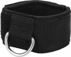 DW4Trading® Enkelband met D-ring straps zwart