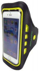 Tunturi Sport Telefoonarmband - Sportarmband - Hardloop armband - Smartphone armband - met Led hardloopverlichting Geel