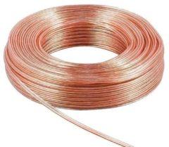 Transparante Luidspreker Kabel - 1.5mm² - 5 meter - Velleman