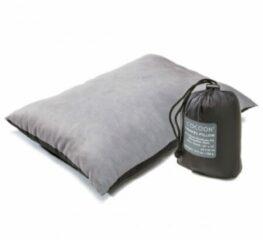 Cocoon - Travel Pillow Nylon - Kussen maat Large - 33 x 43 cm grijs/zwart