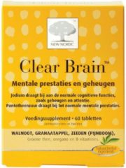 New Nordic Clear brain 60 Tabletten