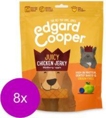 Edgard & Cooper Kip Jerky - Hondensnack - 8 x 150g