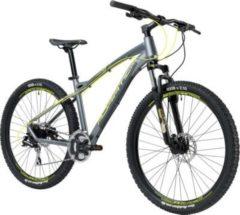 27,5 Zoll Herren Mountainbike 24 Gang Adriatica Wing... grau-gelb, 48cm