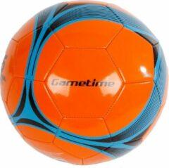 Gametime Voetbal Pu/synthetisch 280 Gram Oranje/grijs Maat 5