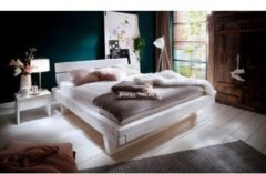 Premium collection by Home affaire Bett »Ultima« aus massivem Holz in Balken-Optik