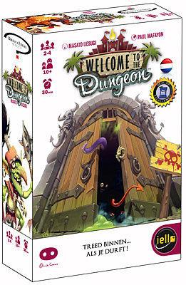Afbeelding van Asmodee Welcome to the Dungeon - Kaartspel