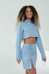 Angelica Blick x NA-KD Rok - Blue