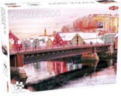Tactic Puzzel Around the World Nothern Stars: Nidelva in Trondheim - 1000 stukjes