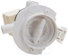 Ablaufpumpe mit Pumpenstutzen und Filter (Magnettechnikpumpe, 34 Watt) für Waschmaschinen 481236018529