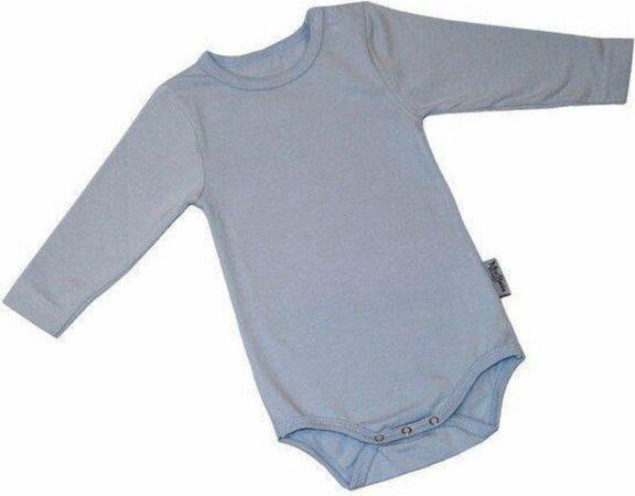 Afbeelding van Lichtblauwe KinderBasics Romper Lange mouw - Licht Blauw - 50
