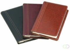Adresboek - Notaphone - 'Palermo' - Brepols - Bruin - Kunstleder - Spiraal - 10 x 17.3 cm