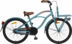 22 Zoll Popal Black Fighter Jungen Cruiser Fahrrad Popal blau