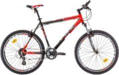 26 Zoll Herren Mountainbike 24 Gang Bikesport All Carter... schwarz-rot