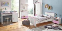 Parisot Jugendzimmer-Set (5-tlg.) »Biotiful«, mit 3-trg. Kleiderschrank