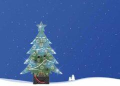 Velleman MK100B LED-kerstboom Uitvoering (bouwpakket/module): Bouwpakket 9 V/DC