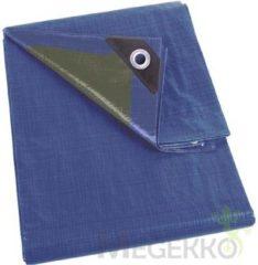 Blauwe Velleman Dekzeil - Kaki - Standaard - 2 X 8 M
