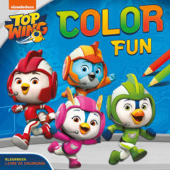 ZNU Nickelodeon Kleurboek Top Wing Color Fun