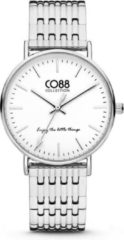CO88 Collection 8CW-10070 - Horloge - stalen band - zilverkleurig - Ø 36 mm